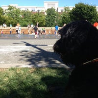 Photo taken at Jamison Square Park by Martin T. on 7/7/2013