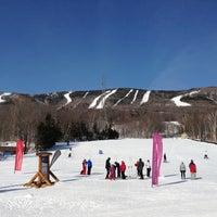 Photo taken at Mont-Sainte-Anne by Alexander Y. on 2/19/2013