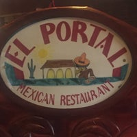 Photo taken at El Portal Mexican Restaurant by Tammy H. on 5/23/2016