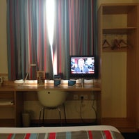 Photo taken at Travelodge London Central City Road by Will M. on 7/22/2013