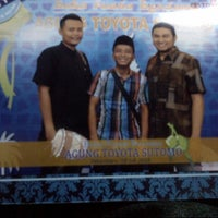 Photo taken at PT. Agung Toyota by Eka' P. on 7/18/2014