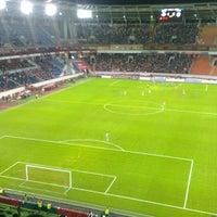 Photo taken at Стадион «Локомотив» by Михаил Алимов on 10/26/2013