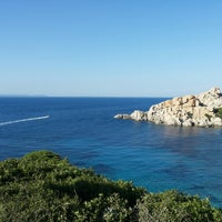 Photo taken at Capo Testa Spiaggia di Levante by Liliia A. on 7/17/2014