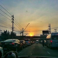 Photo taken at Ratchada-Lat Phrao Intersection by JaNiE P. on 12/4/2012