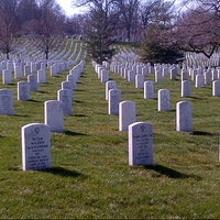 Photo taken at Arlington National Cemetery by Kassia B. on 4/5/2013