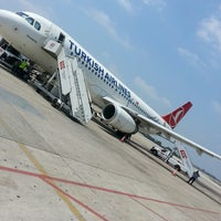 Photo taken at Adana Airport (ADA) by Fatma D. on 7/13/2013