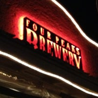 Photo taken at Four Peaks Brewing Company by Tessa S. on 1/18/2013
