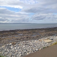 Photo taken at Enniscrone Beach by Markéta Š. on 9/28/2014