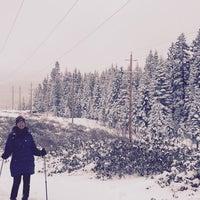 Photo taken at Tahoe Donner Ski Resort by Vicky W. on 3/1/2015