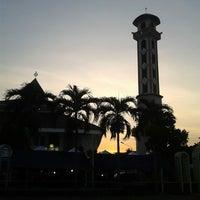 Photo taken at Alun-Alun Karawang by Atu A. on 8/8/2014