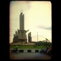Photo taken at Simpang Empat Banjarbaru by Maulida N. on 4/17/2014