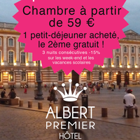 Photo prise au Hotel Albert 1er par Hotel Albert 1er le2/26/2014
