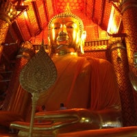 Photo taken at Wat Phananchoeng by mam t. on 12/7/2012