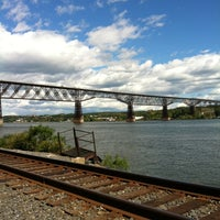Photo taken at Walkway Over the Hudson State Historic Park by Sabrina C. on 9/24/2012