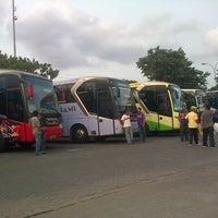 Photo taken at Terminal Purabaya (Bungurasih) by bonk a. on 3/25/2013