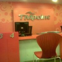 Photo taken at TM Net Dataran Sunway by HoneyBoo B. on 2/29/2012