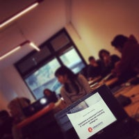 Photo taken at Aula Informatica Per Formazione Aziendale by Margherita P. on 2/17/2012