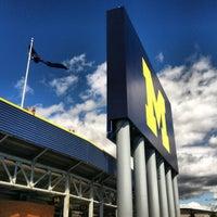 Photo taken at Michigan Stadium by Megan C. on 9/8/2012