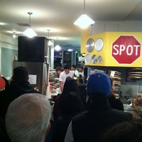 Photo taken at Spot A Pizza Place by Jay G. on 11/28/2011