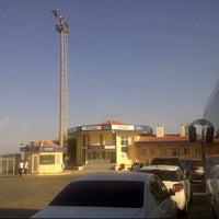 Photo taken at Geyikli Feribot İskelesi by Salih F. on 8/19/2012