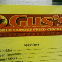 Photo taken at Gus' World Famous Fried Chicken by Paul C. on 12/4/2011