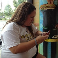 Photo taken at Subway by Alicia B. on 7/14/2012