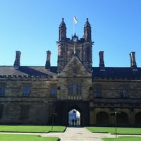 Photo taken at The University of Sydney (USYD) by Miguel Angel P. on 6/30/2012