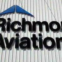 Photo taken at Richmor Aviation @ KPOU by Chris L. on 4/3/2011