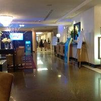 Photo taken at Sheraton Warsaw Hotel by Gabor R. on 9/3/2012