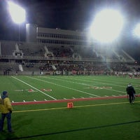 Photo taken at Kenneth P. LaValle Stadium by ¤ Paula ¤ G. on 11/19/2011