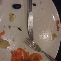 Photo taken at Restaurante Pizzaria e Chopperia Makey by Rebecca L. on 10/15/2011