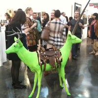 Photo taken at Texas Contemporary Art Fair by Elvia F. on 10/21/2011