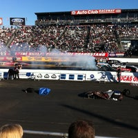 Photo taken at AAA Auto Club Raceway by JOHNNYC on 2/28/2011