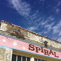 Photo taken at Spiral Diner & Bakery by Jenni L. on 1/22/2012