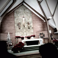 Photo taken at St. Charles Catholic Church by Nicole E. on 12/25/2011