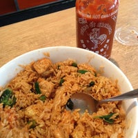 Photo taken at Tin Drum Asian Kitchen by Charles F. on 12/16/2011