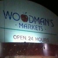Photo taken at Woodman's Food Market by Angela C. on 7/11/2012