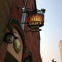 Photo taken at Goldy's Breakfast Bistro by Barb G. on 8/13/2012