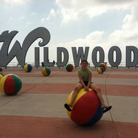 "Photo taken at ""Wildwoods"" Sign by Andrew 😜 F. on 7/26/2011"