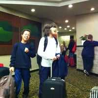 Photo taken at Promenade Hotel by Marta C. on 8/16/2011