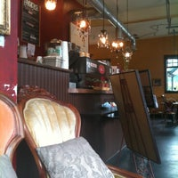 Photo taken at Richmond Beach Coffee House by takayo on 10/20/2011