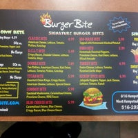 Photo taken at Burger Bite by Vic D. on 4/10/2012