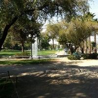 Photo taken at Parque Inés de Suárez by Bilz y Pap C. on 4/16/2012