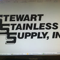 Photo taken at Stewart Stainless Supply Co. by Rena A. on 2/14/2012