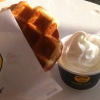 Photo taken at Waffle Bant by Meggi on 12/16/2011