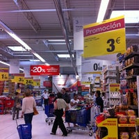 Photo taken at Carrefour Majadahonda by Charo L. on 6/10/2011
