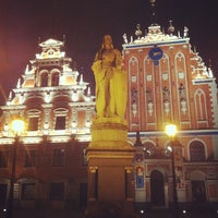 Photo taken at The Town Hall Square by Nikolay on 3/9/2012