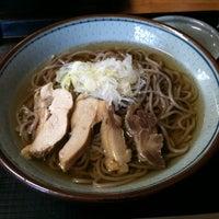 Photo taken at 冷たい肉そば専門店かほく by keizi on 2/23/2011