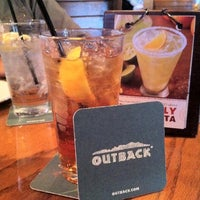 Photo taken at Outback Steakhouse by Lynda P. on 1/21/2012