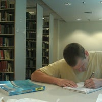 Photo taken at Joyner Library by Cory S. on 12/9/2011